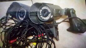 CCTV Surveillance Cameras. Shop House. Infra Red. Very good cheap. Collect today cheap