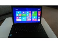 "Toshiba Satelite 15"" Screen Laptop Windows 8 VGC"