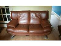 Leather sofa 2&3 seater
