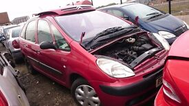 2004 CITROEN XSARA PICASSO LX, 2.0 HDI, BREAKING FOR PARTS ONLY, POSTAGE AVAILABLE NATIONWIDE