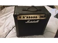 Marshall Guitar Amp - MG15. Perfect first amp at great price