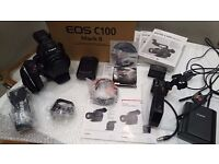 Canon EOS C100 Mark II HD Camcorder (with 1 year + warranty)