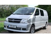 TOYOTA HI ACE MOTOR CARAVAN /4 BELTED SEATS /SUITABLE FOR EVERY DAY USE.