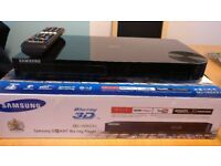 Samsung 3D Blu-Ray Player with Built-in WiFi