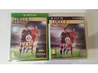 FIFA 2016 DELUXE EDITION- Psp3 &Xbox One-w/ FUT Gold Pack** Brand New & Sealed
