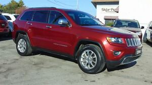 2014 Jeep Grand Cherokee LIMITED - LEATHER - SUNROOF - CLEAN CAR