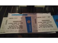 2 x Biffy tickets Bellahouston Park - Sat 27th