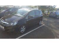 Vauxhall, ZAFIRA, MPV, 2010, Manual, 1598 (cc), 5 doors