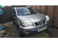 2001(51) Nissan X-Trail sport 140bhp 2.0 petrol 7 seater