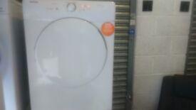 8KG HOOVER VHV680C VENTED SENSORDRY TUMBLE DRYER IN WHITE