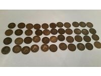 Old British coins 1906- 1936
