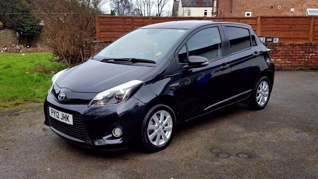 2012 toyota yaris 1 5 vvt i t4 5dr automatic electric hybrid full dealer service history in. Black Bedroom Furniture Sets. Home Design Ideas