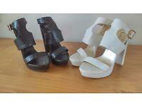 Smart heeled shoes