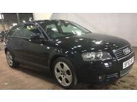 2004 Audi A3 2.0 FSI SPORT, 3 Door, Petrol, Manual, MOT 12 Months*, 8 service stamps 4 main dealer