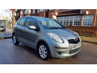 TOYOTA YARIS ZINC D-4D 2007 1 P/LADY OWNER 118000 MILES FULL HISTORY £30.00 YEAR TAX AC ALLOY 5DOOR