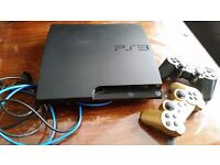 Ps3 console with control