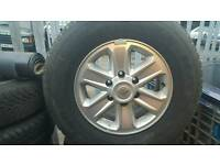 Vauxhall frontera alloy wheels
