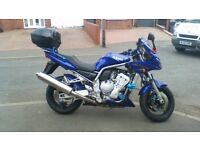 Yamaha fzs fAZER 1000 VGC nice upgrades poor health forces sale - hence great low price - bargain
