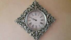 distressed battery operated wall clock for sale