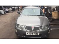 2004 Rover 75 Classic Tourer Estate 1.8 Petrol Grey BREAKING FOR SPARES