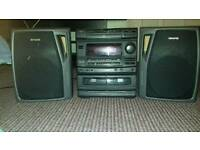 AIWA AUX-CD-RADIO SYSTEM