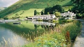 Sous Chef, Tyn Y Cornel hotel and Lake, Snowdonia National Park