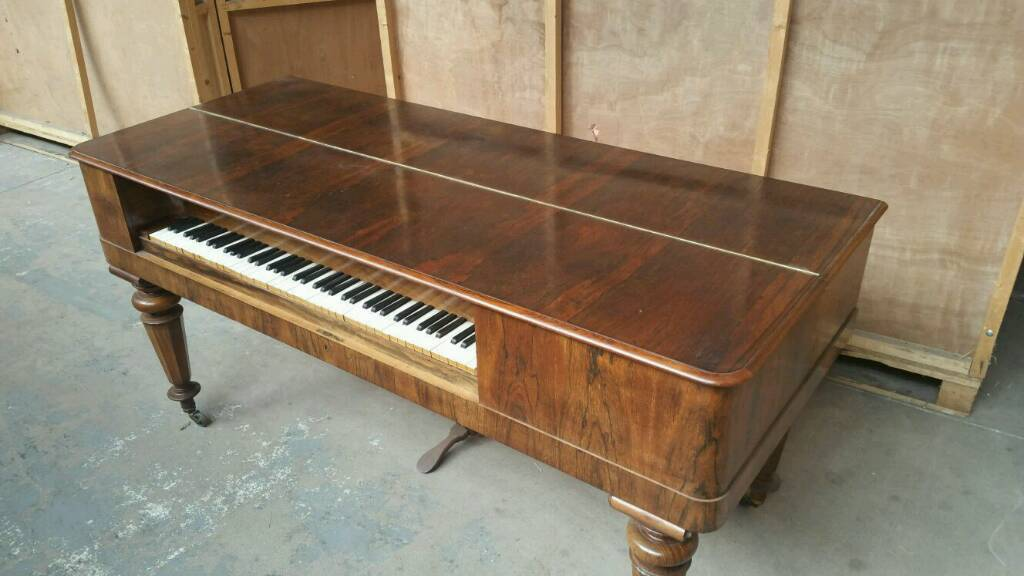 Reception Desk Antique Rosewood Piano