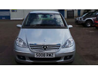 2008 08 MERCEDES A150 ELEGANCE SE CVT AUTO 1 LADY OWNER (CHEAPER PART EX WELCOME