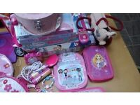 Girls various toy items £10