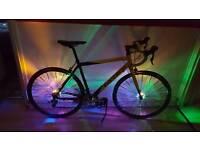 Cash £180 carerra tdf road bike perfect condition 20 gear swap gt or carrera mountains bike 24 gear