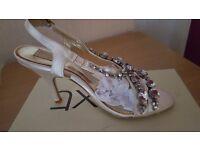 Ladies Next Diamonte Sandals (New) size 4.5