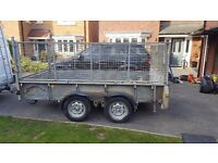 ifor williams 10 x 5 caged trailer.