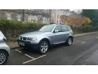 55 plate bmw x3 3.0d sport may swap/px