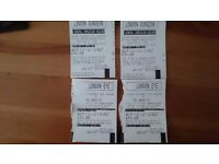 Tickets for 2 london attraction. London Eye and London Dungeon