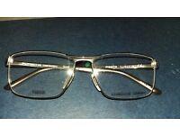 Porsche Titanium Frame Glasses. NEW