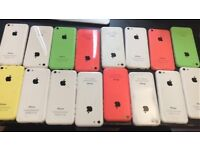 APPLE IPHONE 5C UNLOCKED MINT CONDITION COMES WITH WARRANTY & RECEIPT
