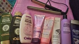 Hair Straighteners and products