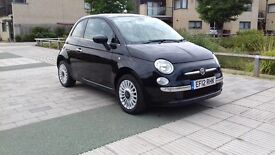 2012 FIAT 500 LOUNGE 1.2 PETROL EXCELEND CONDITION.