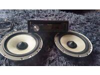 Car stereo dab basebox door speakers