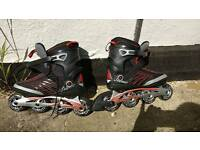 Rollerblades K2 size 8 used