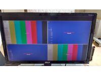 Zandar DX-4 SDI Multiviewer with PPM Monitors,Clock,Umd Rack