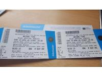 X2 tickets to see Arcade Fire