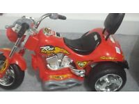 Toddler Red Hawk Electric Bike