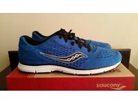 SAUCONY MENS RUNNING SHOES TRAINERS SIZE 10.5 UK ***CAN POST UK +£2.99***