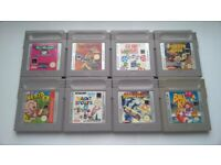 85 Nintendo Gameboy Games with Plastic Cases. Some Rare and Collectable Titles.