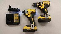 DeWALT 20V Brushless Hammer Drill & Impact Driver Combo Set