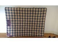 Excellent condition king size orthopaedic mattress