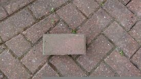 Approx 1000 red bricks free to collect