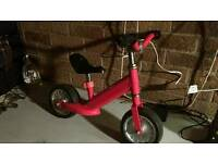 Balance kids bike in great condition