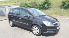 **7 Seater** 2006 Vauxhall zafira 1.6 Petrol 8 Month MOT 95000 Miles Only...